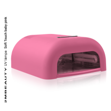 2M BEAUTY UV LAMPA SOFT TOUCH - BABY PINK 36W
