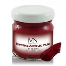 MYSTIC NAILS Supreme Akrilna boja - no.05. Rubino - 40 ml