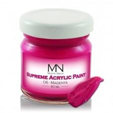 MYSTIC NAILS Supreme Akrilna boja - no.06. Magenta - 40 ml