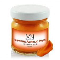 MYSTIC NAILS Supreme Akrilna boja - no.10. Arancione - 40 ml