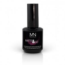 MYSTIC NAILS Matte & Go Top Gel - 10ml