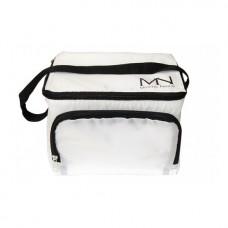 MYSTIC NAILS Hladnjak torba sa logotipom MN - bela