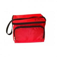 MYSTIC NAILS Hladnjak torba sa logotipom MN - crvena