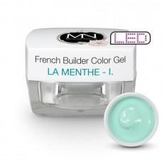 MYSTIC NAILS French Builder Color Gel - I. - la Menthe -15g