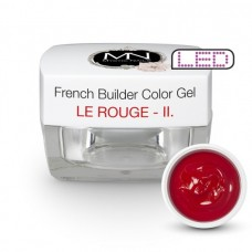 MYSTIC NAILS French Builder Color Gel - II. - le Rouge -15g