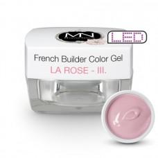 MYSTIC NAILS French Builder Color Gel - III. - la Rose -15g