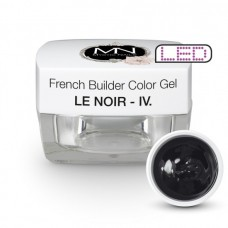 MYSTIC NAILS French Builder Color Gel - IV. - le Noir -15g