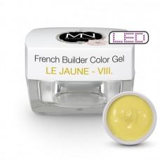 MYSTIC NAILS French Builder Color Gel - VIII. - le Jaune -15g