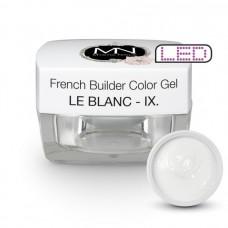 MYSTIC NAILS French Builder Color Gel - IX. - le Blanc -15g