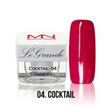 MYSTIC NAILS LEGRANDE color gel - no.04. - Cocktail - 4 g