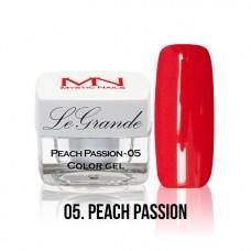MYSTIC NAILS LEGRANDE color gel - no.05. - Peach Passion - 4 g