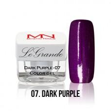 MYSTIC NAILS LEGRANDE color gel - no.07. - Dark Purple - 4 g