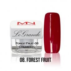MYSTIC NAILS LEGRANDE color gel - no.08. - Forest Fruit - 4 g