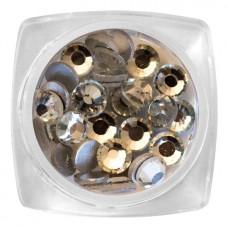 MYSTIC NAILS Crystal Stone - SS20 Silver 30 pcs / jar