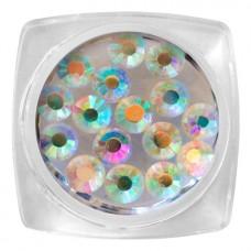 MYSTIC NAILS Crystal Stone - SS20 Holographic 30 pcs / jar
