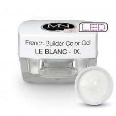 MYSTIC NAILS FRENCH BUILDER COLOR GEL - IX Le Blanc 15g
