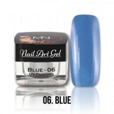 MYSTIC NAILS UV Painting Nail Art Gel - Ice Cream - Blue - 4g