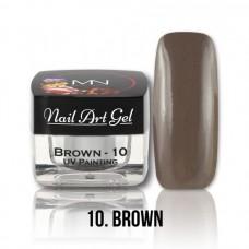 MYSTIC NAILS UV Painting Nail Art Gel - 10 - Brown - 4g