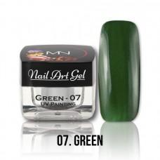 MYSTIC NAILS UV Painting Nail Art Gel - 07 - Green - 4g