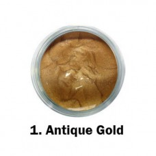 MYSTIC NAILS Akrilna boja - br.01. - Antique Gold - Metalik boja