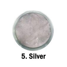 MYSTIC NAILS Akrilna boja - br.05. - Silver - Metalik boja