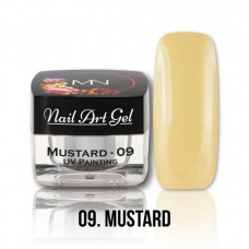 MYSTIC NAILS UV Painting Nail Art Gel - 09 - Mustard -4g