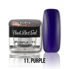 MYSTIC NAILS UV Painting Nail Art Gel - 11 - Purple - 4g