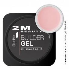 2M BEAUTY FIBER gel pink 15g