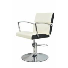 ARCOBALENO radna stolica LENA - P4(KRUG) BELO/CRNA
