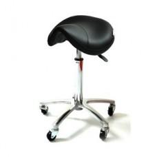 ARCOBALENO stolica za frizera TAGUS ALUMINIJUM CRNA