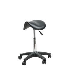 ARCOBALENO stolica za frizera TAGUS CRNA
