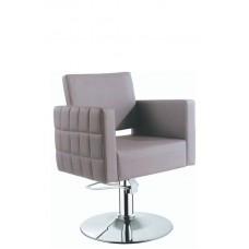 ARCOBALENO Radna stolica ILI 8012 - P4(KRUG) SIVA