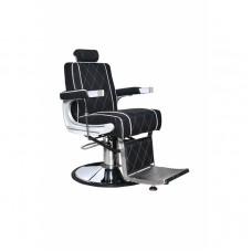 ARCOBALENO Berberska stolica ARK 5228A - A15 crna sa belim štepom