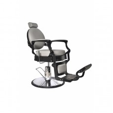 ARCOBALENO Berberska stolica TIBER 5258D-1 - A30 siva