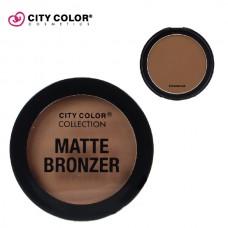 CITY COLOR Mat bronzer CHESTNUT 8.95g