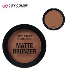 CITY COLOR Mat bronzer COPPER 8.95g