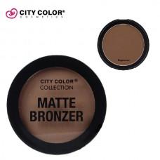 CITY COLOR Mat bronzer ESPRESSO 8.95g