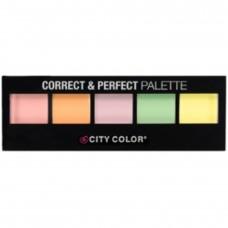 CITY COLOR Correct & Perfect paleta korektora