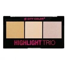 CITY COLOR highlight trio collection 1 - Iluminator u kamenu