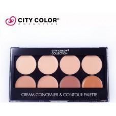 CITY COLOR photo chic contour palette 12/8 8x1,5g