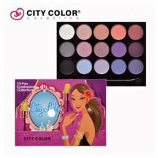 CITY COLOR CITY LIFE eyeshadow book paleta senki 1