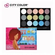 CITY COLOR CITY LIFE eyeshadow book paleta senki 2