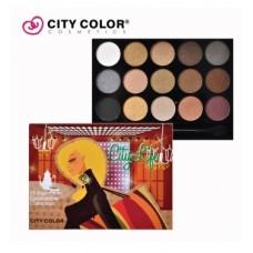CITY COLOR CITY LIFE eyeshadow book paleta senki 4