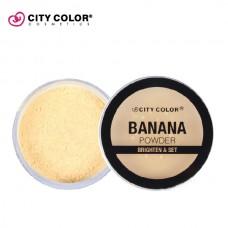 CITY COLOR Banana puder 11.6g