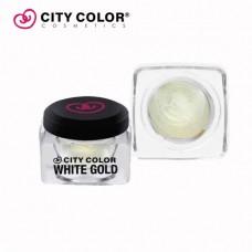 CITY COLOR Kremasti prajmer za senku WHITE GOLD 2.6g