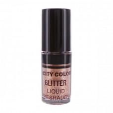 CITY COLOR Tečna gliter senka Rose Gold 3ml