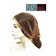 EUROSTIL Mrežica za kosu trougao braon 1039/69