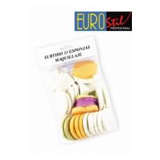 EUROSTIL Sunđeri za šminku 33/1 2676