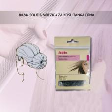 COMAIR Solida mrežica za kosu tanja crna