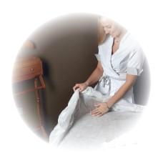 LACOMES Elastični prekrivač za krevet od netkanog materijala 90cm x 220cm